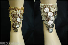 Egypt Belly Dance Dancing Costume Coins Anklet Egyptian Gypsy Tribal Ethnic  112