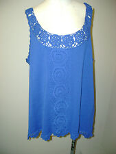 Joseph A Sleeveless Crochet Pattern Tunic NWT $48