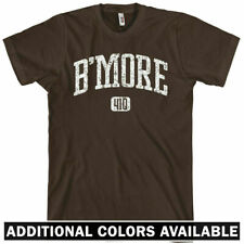 B'MORE T-shirt - Area Code 410 - Baltimore Wire XS-4XL