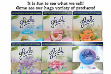 12 GLADE Plugin Scented Oil REFILLS Selection Fit AIR WICK Warmer Free Shipping