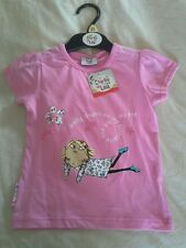 New Charlie and Lola Pink T Shirt Top 9 12 18 months 2 3 Years Girls Baby