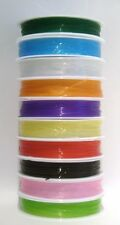 1 X 10M STRETCH ELASTIC BEADING WIRE 0.8MM 8 Colours