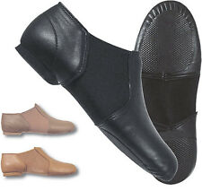 Dance Class by Trimfoot GB100 Black Split Sole Jazz Shoe for Girls and Women
