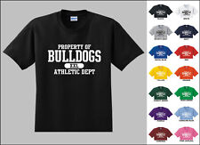 Bulldogs Property of Athletic Dept. T-shirt