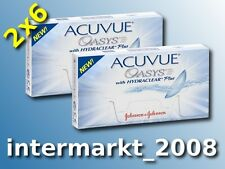 Acuvue OASYS Hydraclear PLUS BC 8.8  2×6 Non-Stop-Linsen 2-Wochenlinsen  Neu&OVP