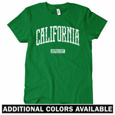 CALIFORNIA REPRESENT Women's T-shirt Los Angeles San Francisco San Diego - S-2XL