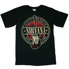 Nirvana - Est 1988 Guitar Stamp T-Shirt
