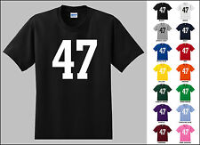 Number 47 Forty Seven T-Shirt