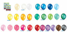 "50 X 12"" LATEX HELIUM QUALITY BALLOONS FOR PARTY WEDDING BIRTHDAY 27 COLOURS"