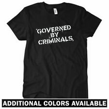 GOVERNED BY CRIMINALS Women's T-shirt - Anarchy Riot Occupy Wall Street - S-2XL