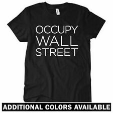 OCCUPY WALL STREET Women's T-shirt - Anarchy Riot Wall Street Protest 99 - S-2XL