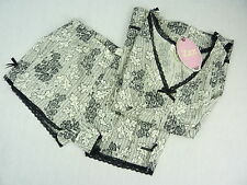 Peter Alexander Womens 'New Lace Shortie Set' Pj Shortie Set BNWT- Choose Size