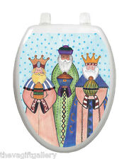 Three Kings Toilet Tattoo Decor Decal Cover Christmas Star Christian TT-X619