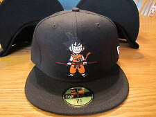 Dragon Ball New Era Hat Gokuu Black 5950 Fitted Hat NEW RARE