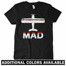 FLY MADRID Women's T-shirt - MAD Barajas Airport Spain Espana Real - S-2XL