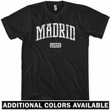 MADRID T-shirt - Espana Spain Spanish Real Atletico Blancos - NEW XS-4XL