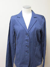 Eileen Fisher Organic Cotton Basketweave Notch Collar Shaped Jacket NWT $258