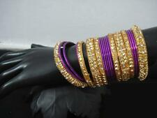 **Stunning Bright Coloured Designer Bangles sets With Stones** Various designs