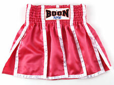 Boon Muay Thai Pink Panels Skirt BOXING MMA BLACK SMALL, MEDIUM, LARGE, XLARGE