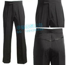 NEW Black Men's Latin Ballroom Salsa Latin Dance Pants