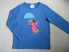 New Mini Boden T Shirt Top 3 4 5 6 7 8 11 12 years Dog with Umbrella