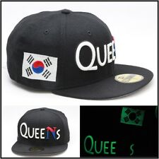 New Era Queens Custom Fitted Country Flag Hat South Korea Glow In The Dark
