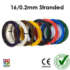 Layout Wires (10m each - Suitable for point motors & DCC-16/0.2mm Stranded)