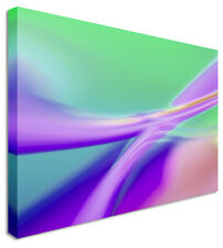 Large Abstract Painting Purple Liquid Canvas Wall Art Pictures