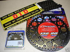 DID Chain And Black Renthal Sprocket Kit CR CRF 125/250/450/500 88-13 R X