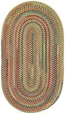 Capel Rugs High Rock Country Kitchen Wool Braided/Area Throw Rug/Gold #150