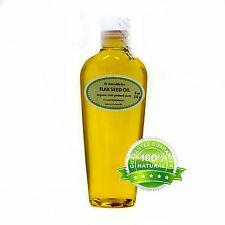 PURE FLAX SEED CARRIER OIL ORGANIC COLD PRESSED 2 OZ 4 OZ 8 OZ -UP TO  7 LB