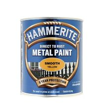 Hammerite Metal Paint all colours 750ml direct to rust Paint for metal