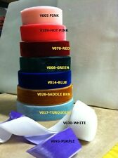 "1.5"" VELVET RIBBONS- 22 COLORS- 1 YARD"