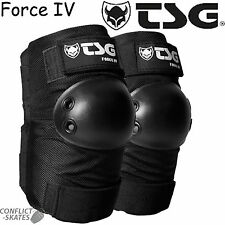 "TSG ""Force IV"" Elbow Pads Skateboard Roller Derby Vert Pool Park Pair Protection"