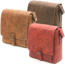 VINTAGE STYLE BAG Oil Nubuck Leather for Digital SLR Camera Lenses Accessories