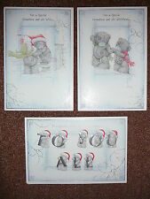 GRANDSON AND WIFE GIRLFRIEND FAMILY CHRISTMAS CARD TATTY TEDDY ME TO YOU