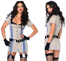 Leg Avenue Highway Patrol Honey Dress Up Outfit Costume Halloween Size 10-12