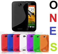 GRIP S LINE SERIES CASE COVER FOR HTC ONE S + FREE SCREEN PROTECTOR