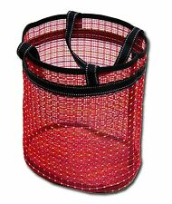 Versatile Mesh Bag for Wet Stuff Beach Swimming Pool Grocery Toy with Round Base