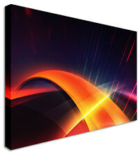 Speed Of Light Abstract Canvas Prints Wall Art Picture Large Any Size
