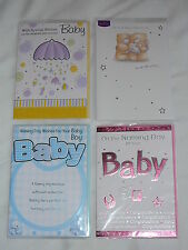 NAMING DAY CARD BOY GIRL BABY UNISEX CHRISTENING BAPTISM BLESSING CUTE TRAD