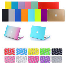 "For Air 13"" A1466/A1369 Rubberized Plastic shell Laptop Hard Case+Keyboard Cover"