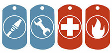 Team Fortress 2 Pc Juego clase emblemas Metal Dog Tag Collar * cadena bola libre *