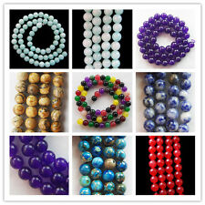 Charming 1 Strand of 6 mm mixed Gemstone loose bead 15.5 inch