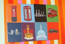 London Notebook/pad A7 Pocket-Sized Christmas Gift Iconic Sites Tourist Themes