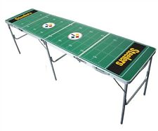 NFL Tailgate Table 8'x2' Multi-Purpose Folding Football Table Beer Pong 30 Teams
