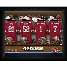 NFL Personalized 11x14 FRAMED Locker Room Print Picture 30 TEAMS - NEW