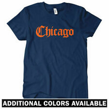 CHICAGO Women's T-shirt - Gothic - 312 773 Bulls Bears Sox Cubs - S-2XL