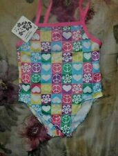 Baby Infant Toddler One Piece Swim Suit Bathing Fun Colorful Prints NWT