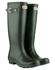Hunter Original Tall Wellington Boots - Dark Olive